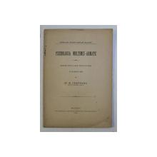 PSICHOLOGIA MULTIMEI  - ARMATE - CONFERINTA TINUTA LA CERCUL MILITAR DIN ROMAN de M . CAMPEANU , 1899