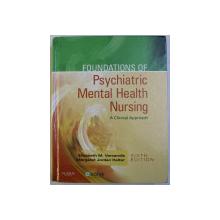 PSYCHIATRIC MENTAL HEALTH NURSING , A CLINICAL APPROACH SIXTH ED. by ELIZABETH M. VARCAROLIS , MARGARET JORDAN HALTER , 2006 + CD