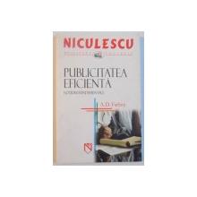 PUBLICITATEA EFICIENTA, NOTIUNI FUNDAMENTALE de A.D. FARBEY, 2005