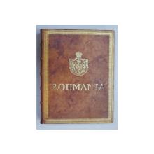QUEEN MARIE OF ROUMANIA , ODE TO ROUMANIA , PARIS , 1923, EXEMPLAR 86 DIN 100 *, EDITIE DE LUX *