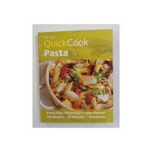 QUICK COOK PASTA , recipes by EMMA LEWIS , 2012