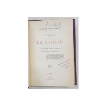 RACINE ET LA VOISIN par MARC DE MONTIFAUD - PARIS, 1878