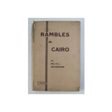 RAMBLES IN CAIRO by R. L. DEVONSHIRE , 1951