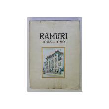 RAMURI 75 (1905-1980) , EXEMPLAR NUMEROTAT DE LA 1-1003 (NR. 537) , DEDICATIE* (F. NESTOR)