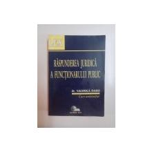 RASPUNDEREA JURIDICA A FUNCTIONARULUI PUBLIC de VALERICA DABU ,  1997