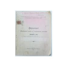 RASPUNSURI LA CHESTIONARUL RELATIV LA INVATATAMANTUL SECUNDAR  de CONSTANTIN I. LUPU , 1905
