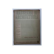 RASSEGNA DI ARCHITETTURA - RIVISTA MENSILE - ANNO X - SETTEMBRE , 1938