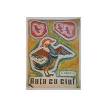 RATA CU CIUF , ALBUM DE COLORAT de I. CARCIU , 1966