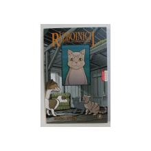 RAZBOINICII , REFUGIUL RAZBOINICILOR - roman grafic de ERIN HUNTER si DAN JOLLEY , 2008