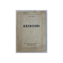 RAZBOIUL de CARLO GOLDONI , COMEDIE IN TREI ACTE , 1957