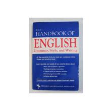 REA 'S HANDBOOK OF ENGLISH GRAMMAR , STYLE , AND WRITING , 1995
