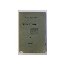 Reactiune   D.V. Barnoschi -BUC.1918