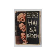REALITATEA ILUSTRATA , NUMAR DE PASTI - HAI SA RADEM , 1937