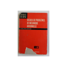 RECUEIL DE PROBLEMES DE MECANIQUE RATIONNELLE de I. MECHTCHERSKI , 1973