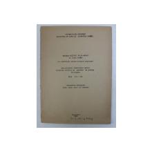 """REDAREA NOTIUNII DE """" A MUNCI """" IN LIMBA ROMANA , AUTOREFERATUL DISERTATIEI PENTRU OBTINEREA TITLULUI DE CANDIDAT IN STIINTE FILOLOGICE , 1965"""