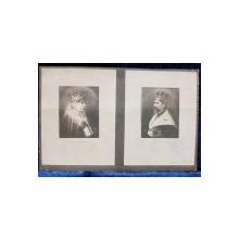 Regina Maria a Romaniei si Regele Ferdinand I - Carte postala ilustrata