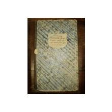 Registru cheltueli in consumatie pentru trebuinta pensionatului Sf. Sava pe anul 1832