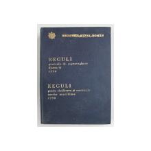 REGISTRUL NAVAL ROMAN - REGULI GENERALE DE SUPRAVEGHERE , REGULI PENTRU CLASIFICAREA SI CONSTRUCTIA NAVELOR MARITIME , 1990