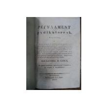 REGULAMENT JUDECATORESC - ALEXANDRU D. GHICA - BUC. 1839    IN TIPOGRAFIA LUI I.ELIAD.
