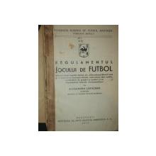 REGULAMENTUL JOCULUI DE FUTBOL de ALEXANDRU CAPATANA, BUC. 1933