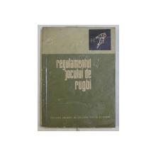REGULAMENTUL JOCULUI DE RUGBI , 1966