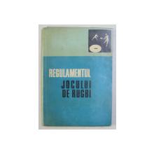 REGULAMENTUL JOCULUI DE RUGBI , 1974