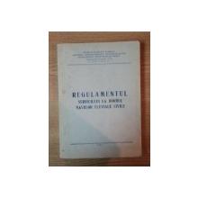 REGULAMENTUL SERVICIULUI LA BORDUL NAVELOR FLUVIALE CIVILE , 1988