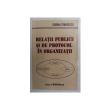 RELATII PUBLICE SI DE PROTOCOL  IN ORGANIZATII de DORINA TANASESCU , 2008