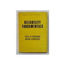 RELIABILITY FUNDAMENTALS by VASILE M. CATUNEANU and ADRIAN N. MIHALACHE , 1989