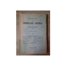 REPERTORIU DE FORMULARE JURIDICE de LASCAR DAVIDOGLU , 1937