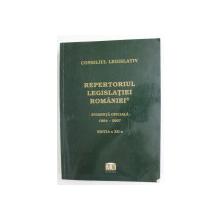 REPERTORIUL LEGISLATIEI ROMANIEI - EVIDENTA OFICIALA 1864 - 2007 , CUPRINDE ACTELE NORMATIVE ADOPTATE PANA LA DATA DE 31 DECEMBRIE 2007 , EDITIA A XII-A
