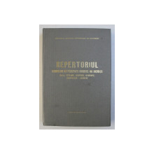 REPERTORIUL PERIODICELOR DIN PRINCIPALELE  BIBLIOTECI DIN BUCURESTI , responsabile ELENA POPESCU si VIORICA NEACSA , 1980