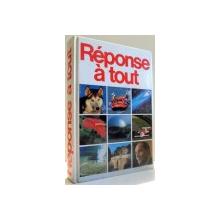 REPONSE A TOUT par FRANCES M. CLAPHAM...YVONNE MESSENGER , 1991