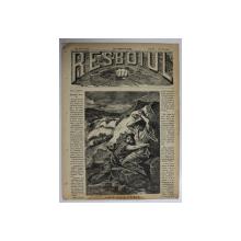 RESBOIUL  - ZIAR CU APARITIE ZILNICA , IN BUCURESTI , NR. 918 , VINERI , 1 FEBRUARIE , 1880 , PREZINTA PETE