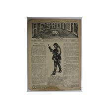 RESBOIUL  - ZIAR CU APARITIE ZILNICA , IN BUCURESTI , NR. 920 , DUMINICA  , 3 FEBRUARIE , 1880 , PREZINTA PETE