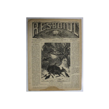 RESBOIUL  - ZIAR CU APARITIE ZILNICA , IN BUCURESTI , NR. 921 , LUNI   , 4  FEBRUARIE , 1880 , PREZINTA PETE