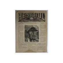 RESBOIUL  - ZIAR CU APARITIE ZILNICA , IN BUCURESTI , NR. 924 , JOI , 7  FEBRUARIE , 1880 , PREZINTA PETE