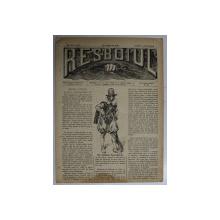 RESBOIUL  - ZIAR CU APARITIE ZILNICA , IN BUCURESTI , NR. 925 ,VINERI , 8   FEBRUARIE , 1880 , PREZINTA PETE
