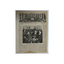 RESBOIUL  - ZIAR CU APARITIE ZILNICA , IN BUCURESTI , NR. 931 , JOI  , 14  FEBRUARIE , 1880 , PREZINTA PETE