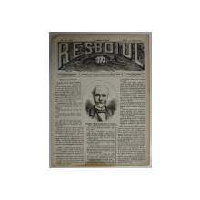 RESBOIUL  - ZIAR CU APARITIE ZILNICA , IN BUCURESTI , NR. 932  , VINERI  , 15  FEBRUARIE , 1880 , PREZINTA PETE