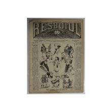 RESBOIUL  - ZIAR CU APARITIE ZILNICA , IN BUCURESTI , NR. 936  , MARTI  , 19  FEBRUARIE , 1880 , PREZINTA PETE