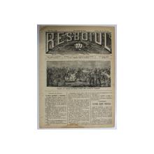RESBOIUL  - ZIAR CU APARITIE ZILNICA , IN BUCURESTI , NR. 939  , VINERI , 22  FEBRUARIE , 1880 , PREZINTA PETE