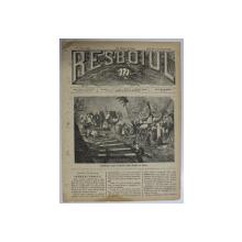 RESBOIUL  - ZIAR CU APARITIE ZILNICA , IN BUCURESTI , NR. 940  , SAMBATA  , 23   FEBRUARIE , 1880 , PREZINTA PETE