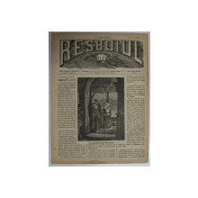 RESBOIUL - ZIAR CU APARITIE ZILNICA IN BUCURESTI, NR. 952,JOI, 6 MARTIE ,  1880