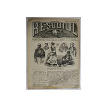 RESBOIUL  - ZIAR CU APARITIE ZILNICA , IN BUCURESTI , NR. 944  , MIERCURI  , 27 FEBRUARIE , 1880 , PREZINTA PETE