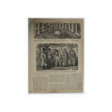 RESBOIUL  - ZIAR CU APARITIE ZILNICA , IN BUCURESTI , NR. 954   , SAMBATA  ,  8 MARTIE ,  1880 , PREZINTA PETE