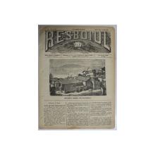 RESBOIUL  - ZIAR CU APARITIE ZILNICA , IN BUCURESTI , NR. 958   , MIERCURI , 12 MARTIE , 1880 , PREZINTA PETE