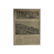 RESBOIUL  - ZIAR CU APARITIE ZILNICA , IN BUCURESTI , NR. 961   , SAMBATA , 15 MARTIE , 1880 , PREZINTA PETE