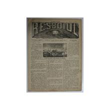 RESBOIUL  - ZIAR CU APARITIE ZILNICA , IN BUCURESTI , NR. 970 , LUNI , 24 MARTIE , 1880 , PREZINTA PETE