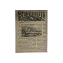 RESBOIUL  - ZIAR CU APARITIE ZILNICA , IN BUCURESTI , NR. 979   , MIERCURI   , 2 APRILIE  , 1880 , PREZINTA PETE